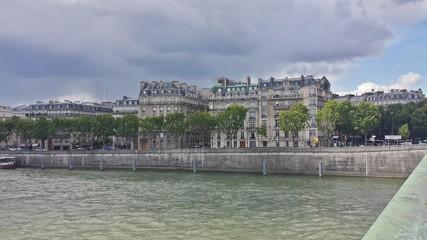 Paris Architecture River Seine