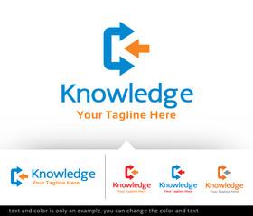 Letter K Logo Design Template - vector