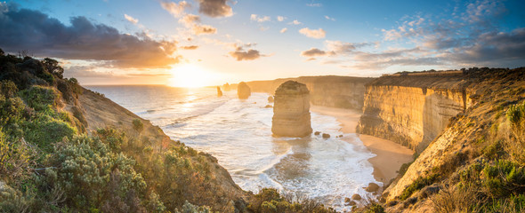 The Twelve Apostle at great ocean road, Melbourne, Victoria, Australia. 壁紙(ウォールミューラル)