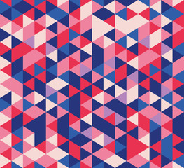 seamless pattern triangles