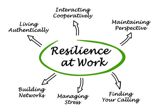 Diagram of Resilience at Work
