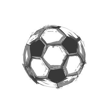 soccer ball light abstract design