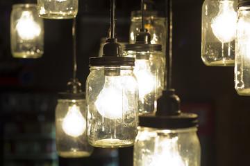 Mason Jar Lightbulbs