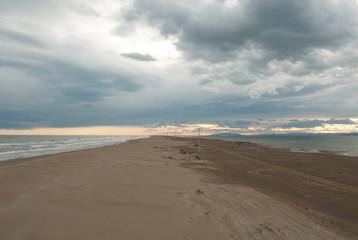 Delta Ebro Sand sea river