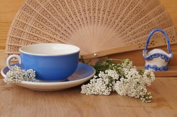 Medicinal plants - milfoil, yarrow flower