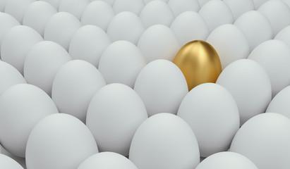 Fototapeta unique golden egg  obraz
