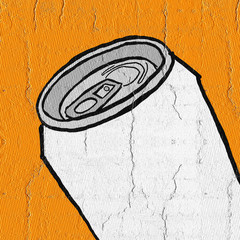 Orange cans