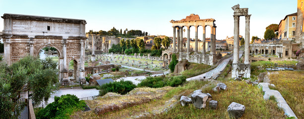 Foto op Plexiglas Rome Roman Forum, Rome
