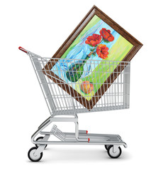 Picture in shopping cart