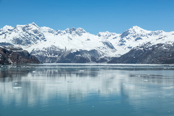 Reflections of Alaska's Glacier Bay