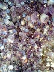 Amethyst gemstone geode