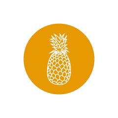 Icon Pineapple in the Contours