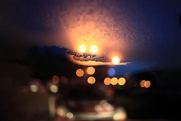 background blurred bokeh cityscape
