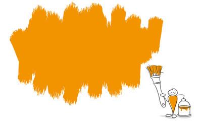 Strichmännchen Serie Pumpy / Farbe