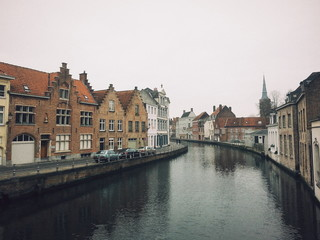 A winter day in Bruges