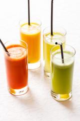 Aluminium Prints Juice fresh juices