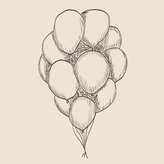 Illustration balloon