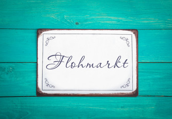 Fototapete - Flohmarkt