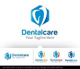 Dental Care Clinic Logo Design Template