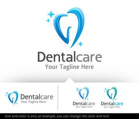 Dental Care Logo Design Template
