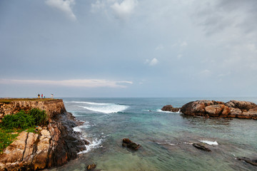 View from the wall of Fort Galle