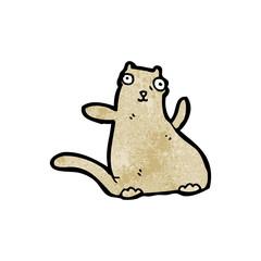 fat cartoon cat