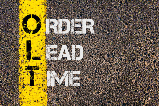 Business Acronym OLT as Order Lead Time