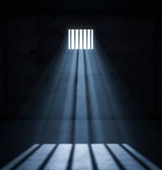 Light in prison cell