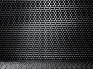 black metal wall texture