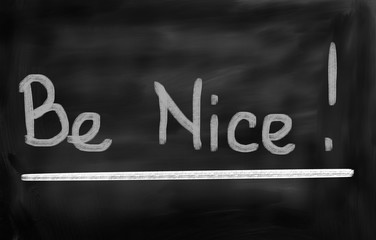 Be Nice Concept