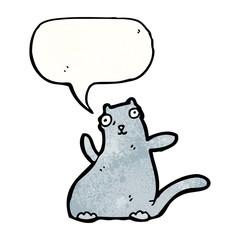 fat ugly cartoon cat