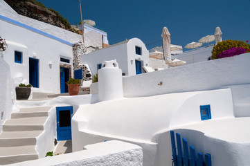 White Santorini Terraces