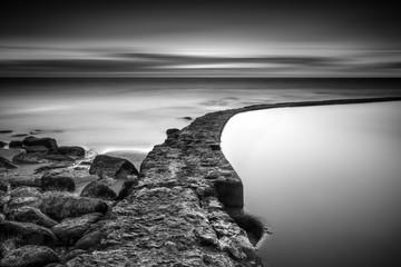 The pebble beach - fototapety na wymiar