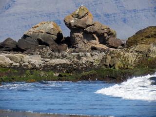 Troll an Islands Südküste