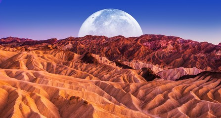 Fotomurales - Death Valley Scenic Night