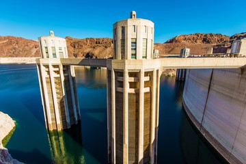 Printed kitchen splashbacks Dam Hoover Dam Intake Towers