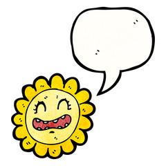 cartoon sunflower