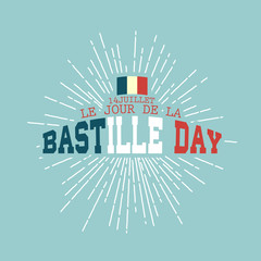 14th July,Happy Bastille Day background