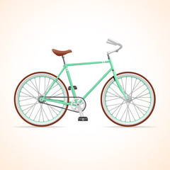 Vector Bicycle Hypster