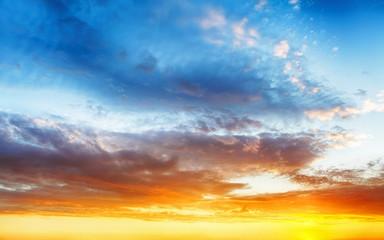 Color sky background