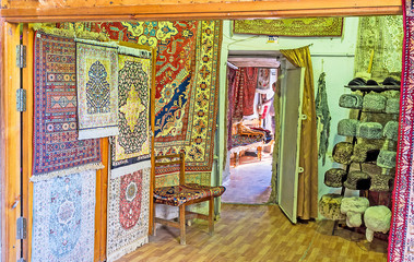 The silk rugs