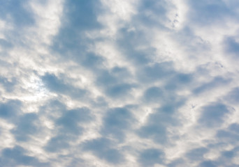 blue sky cloud texture