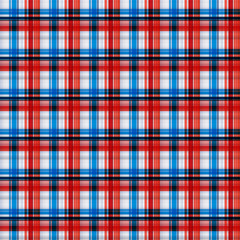 Seamless tartan, plaid pattern