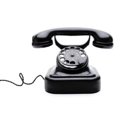 Wählscheibentelefon mit Kabel