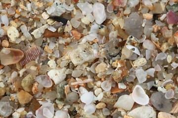 background texture of pebble stone beach
