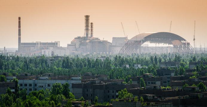 Chernobyl Nuclear Reactor - New Sarcophagus