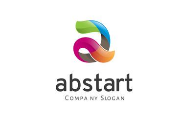 Abstart Logo template
