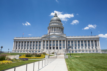 Wall Mural - Utah State Capitol Building, Salt Lake City