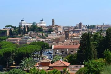Rzym widok na Pałac Wenecki