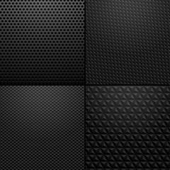 arbon and Metallic texture - background illustration